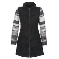 vaatteet Naiset Paksu takki Desigual GRAME Black