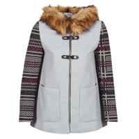 vaatteet Naiset Paksu takki Desigual GERDI Grey