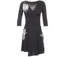 vaatteet Naiset Lyhyt mekko Desigual GRAFU Black