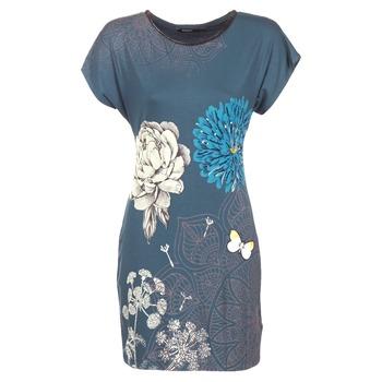 vaatteet Naiset Lyhyt mekko Desigual MARTI Blue