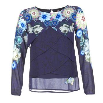 vaatteet Naiset Topit / Puserot Desigual TAMA Blue