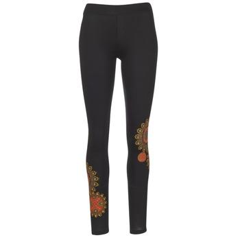 vaatteet Naiset Legginsit Desigual JULEF Black