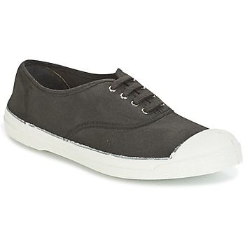 kengät Naiset Matalavartiset tennarit Bensimon TENNIS LACET Grey