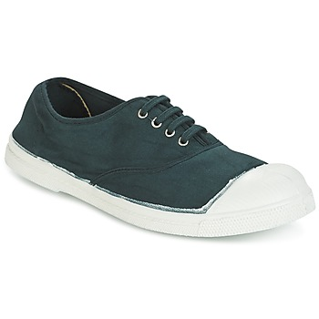 kengät Naiset Matalavartiset tennarit Bensimon TENNIS LACET Green / Fonce