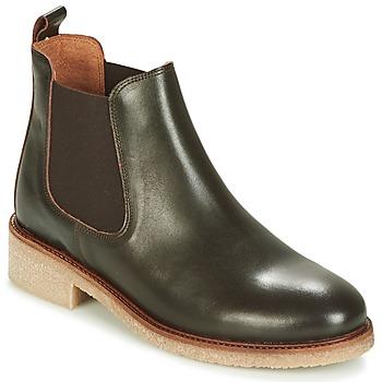kengät Naiset Bootsit Bensimon BOOTS CREPE Brown