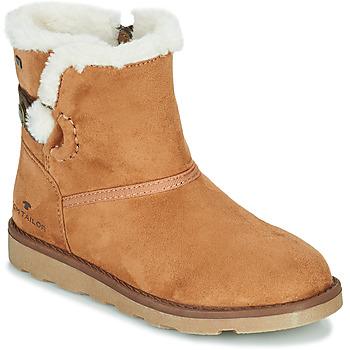 kengät Tytöt Bootsit Tom Tailor JAVILOME Brown