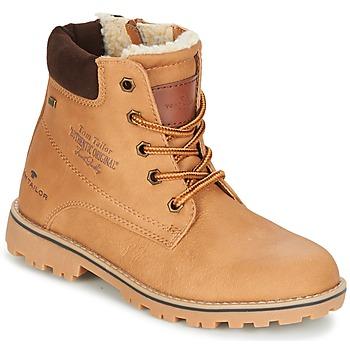 kengät Tytöt Bootsit Tom Tailor JOLUI Camel