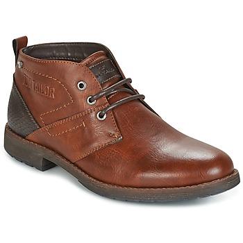 kengät Miehet Bootsit Tom Tailor LAORA Brown