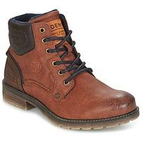 kengät Miehet Bootsit Tom Tailor TIAGO Brown