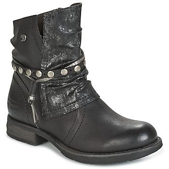kengät Naiset Bootsit Tom Tailor RESTOUNE Black