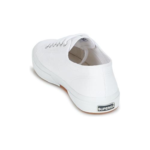 Superga 2750 Classic White - Ilmainen Toimitus- Kengät Matalavartiset Tennarit