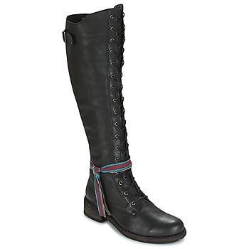 kengät Naiset Ylipolvensaappaat Felmini HARDY Black