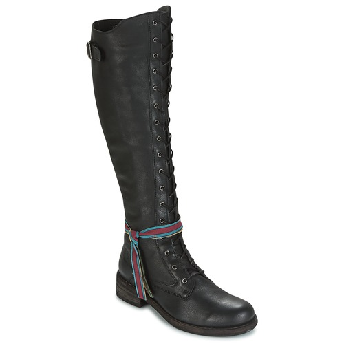 kengät Naiset Ylipolvensaappaat Felmini HARDY Musta