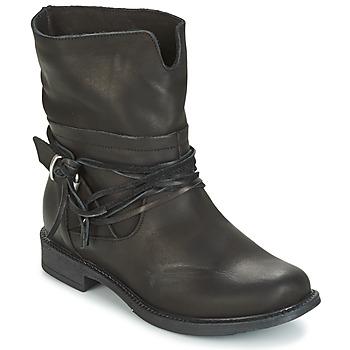 kengät Naiset Bootsit Sweet Lemon PYOBA Black
