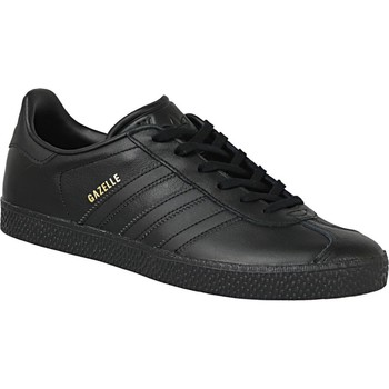 kengät Lapset Tennarit adidas Originals Gazelle J BY9146 Black