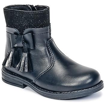 kengät Tytöt Bootsit Citrouille et Compagnie HEYLI Black