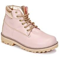 kengät Tytöt Bootsit Citrouille et Compagnie HICHOU Pink