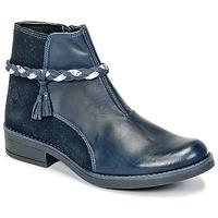 kengät Tytöt Bootsit Citrouille et Compagnie HOCEA Blue
