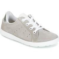 kengät Tytöt Matalavartiset tennarit Citrouille et Compagnie HINETTE Grey / Silver