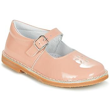 kengät Tytöt Balleriinat Citrouille et Compagnie HIVETTE Pink