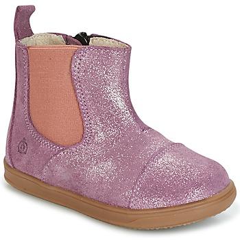 kengät Tytöt Bootsit Citrouille et Compagnie HUETTE Pink