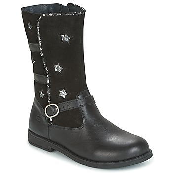 kengät Tytöt Saappaat Citrouille et Compagnie HANDRE Black
