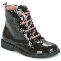 kengät Lapset Bootsit Citrouille et Compagnie HEMANU Musta / Pink
