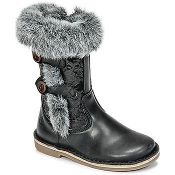 kengät Tytöt Saappaat Citrouille et Compagnie HOSY Black