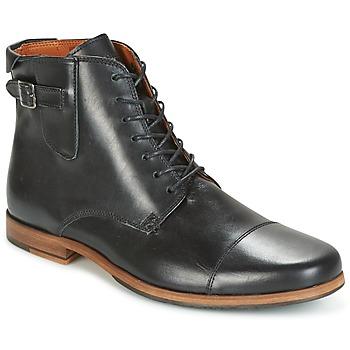 kengät Miehet Bootsit Schmoove BLIND BRITISH BROGUE Black