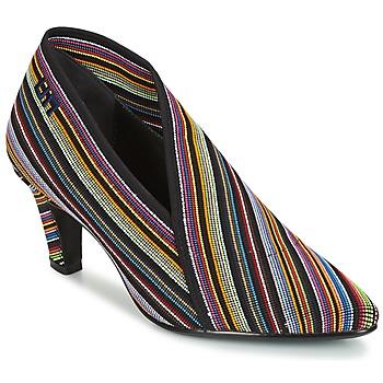 kengät Naiset Nilkkurit United nude FOLD LITE MID Black / Multicolour