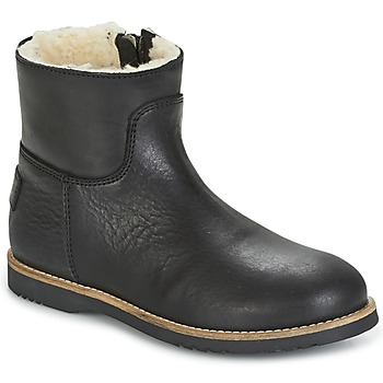 kengät Tytöt Bootsit Shabbies LOW STITCHDOWN LINED Musta