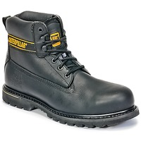 kengät Miehet Bootsit Caterpillar HOLTON ST SB Black