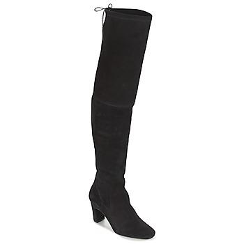 kengät Naiset Ylipolvensaappaat Betty London HENNA Black