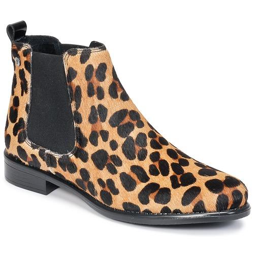 kengät Naiset Bootsit Betty London HUGUETTE Leopardi