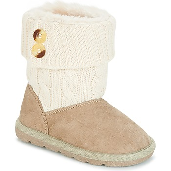 kengät Tytöt Bootsit Chicco CHARME Beige / Brown