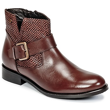 kengät Naiset Bootsit Hush puppies DORAN Brown / Fonce