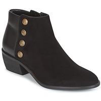 kengät Naiset Nilkkurit Dune London PANELLA Musta