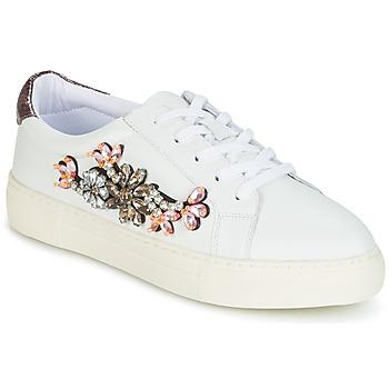 kengät Naiset Matalavartiset tennarit Dune London EMERALDA Valkoinen