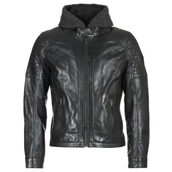 vaatteet Miehet Nahkatakit / Tekonahkatakit Redskins MORISSON Black