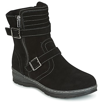 kengät Naiset Bootsit Wildflower MYRNA Black