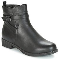 kengät Naiset Bootsit Wildflower MADRIEL Black