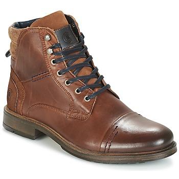 kengät Miehet Bootsit Casual Attitude HOKES Brown