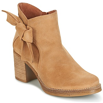 kengät Naiset Nilkkurit Casual Attitude HIRCHE Beige