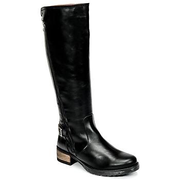 kengät Naiset Saappaat Casual Attitude HAPO Black