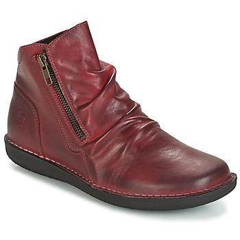 kengät Naiset Bootsit Casual Attitude HERMINA Bordeaux