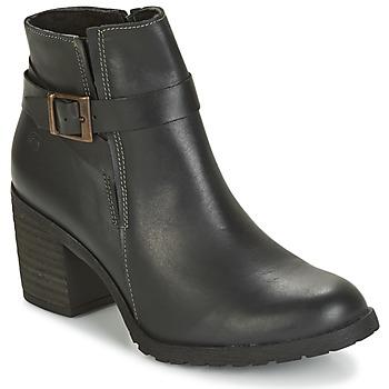 kengät Naiset Nilkkurit Casual Attitude HERMINETTE Black