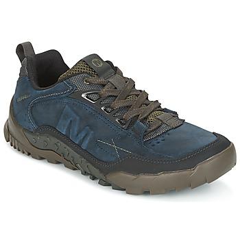 kengät Miehet Vaelluskengät Merrell ANNEX TRAK LOW Blue