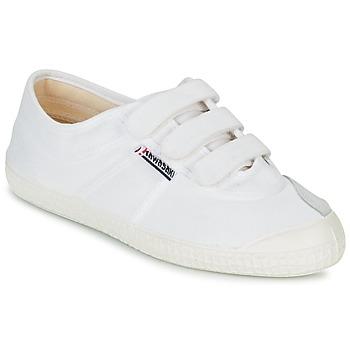 kengät Matalavartiset tennarit Kawasaki BASIC VELCRO White