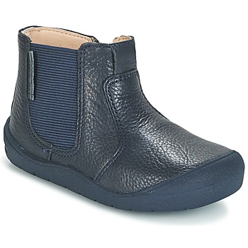 kengät Lapset Bootsit Start Rite FIRST CHELSEA Laivastonsininen
