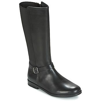 kengät Tytöt Saappaat Start Rite GRACE LONG Black